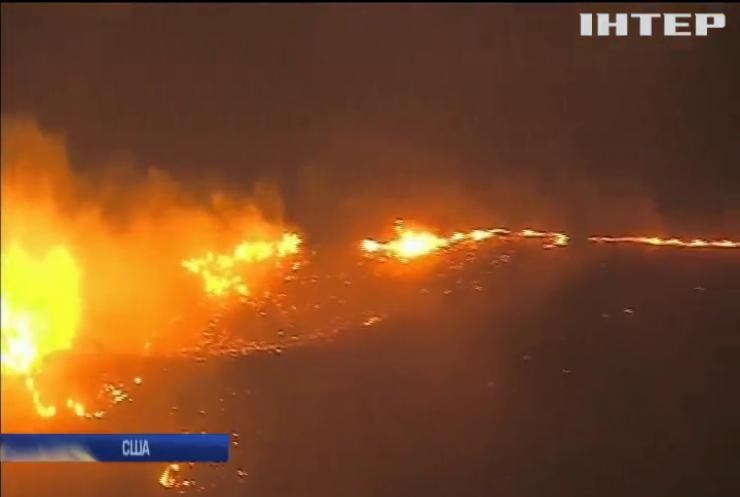 Пожежа у Каліфорнії: почалася масова евакуація людей