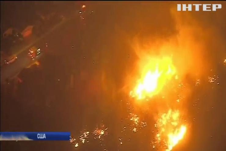 У Каліфорнії лісова пожежа знищила місто Парадайс