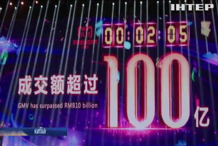 Китайський інтернет-магазин встановив новий рекорд