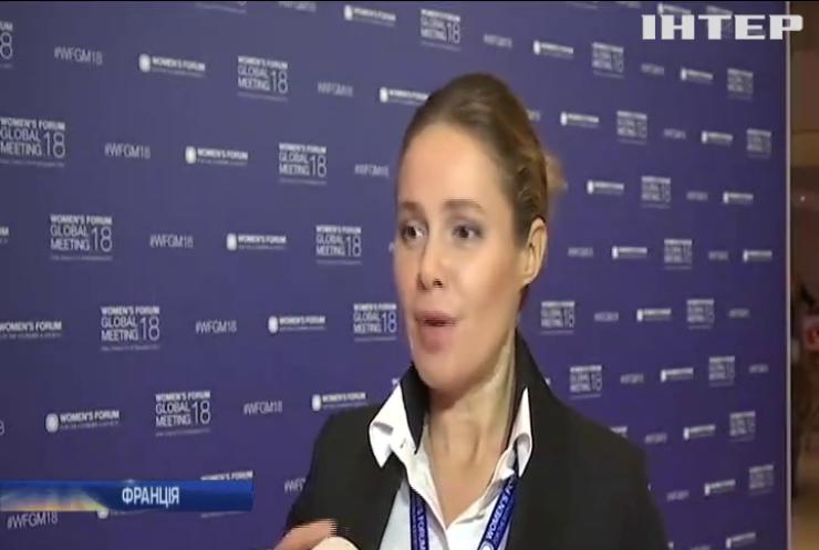 """""""Жінки за мир"""" на Глобальному жіночому Форумі у Парижі закликали повернути мир на Донбас - Наталія Королевська"""
