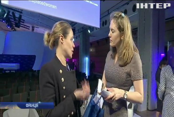 """Національна платформа """"Жінки за мир"""" та Kyiv Global Summit в Парижі представили програму врегулювання ситуації на Донбасі"""