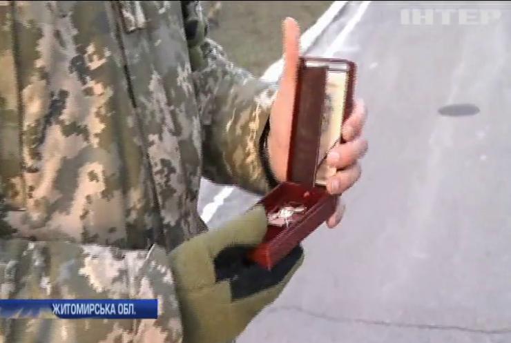 На полігоні в Житомирській області провели показові тактичні навчання до Дня десантно-штурмових військ