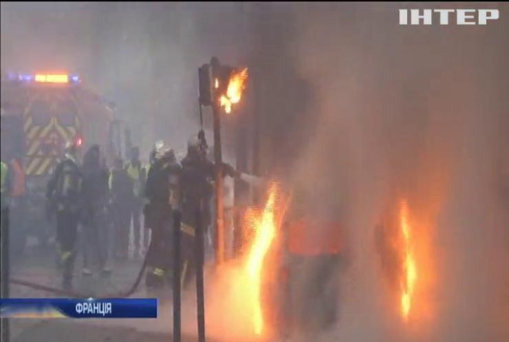 Протести у Парижі: поліція затримала 400 мітингарів