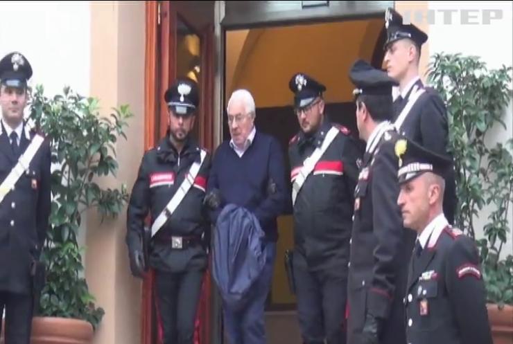 """В Італії затримали """"хрещеного батька"""" сицилійської мафії (відео)"""