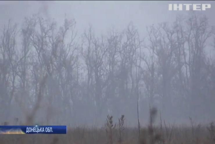 Бойовики обстрілювали околиці хутора Вільний на Луганщині