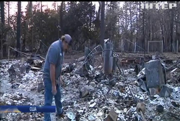 Жителям Каліфорнії дозволили оглянути втрачені будинки