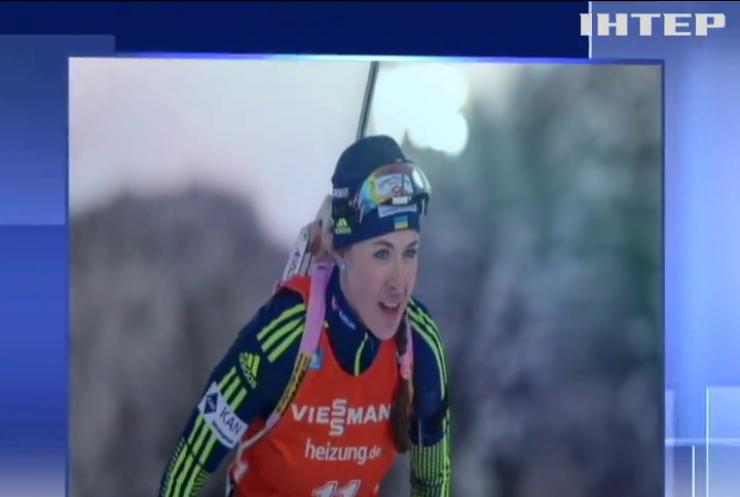 Українка Юлія Джима перемогла у індивідуальній гонці Кубка світу з біатлону