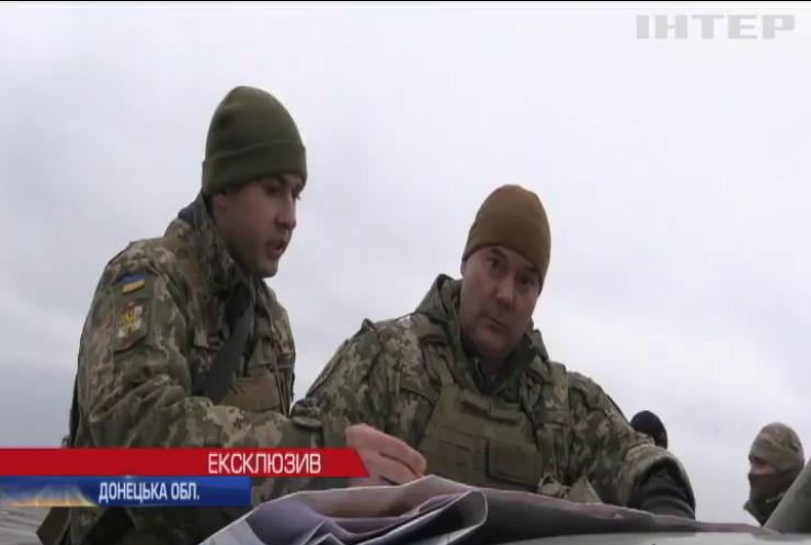 До бою готові: українські військові провели масштабні навчання в зоні ООС - ексклюзив