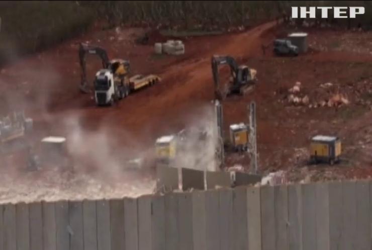 Ізраїль проводить військову спецоперацію на кордоні з Ліваном