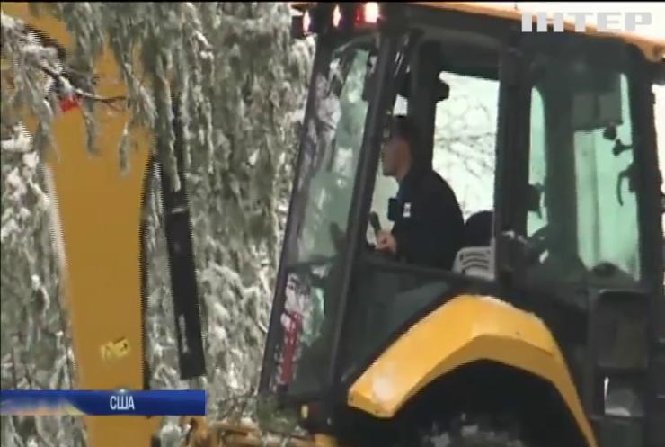 США накрило потужною сніговою бурею