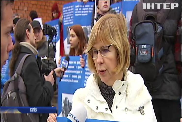 У Києві пройшла акція на підтримку Олега Сенцова