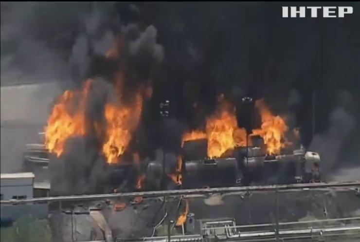 На нафтовому заводі у Бразилії вибухнули цистерни з паливом