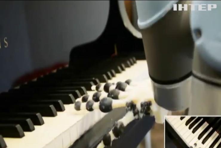 У Кембриджі створили механічну руку, яка грає на фортепіано