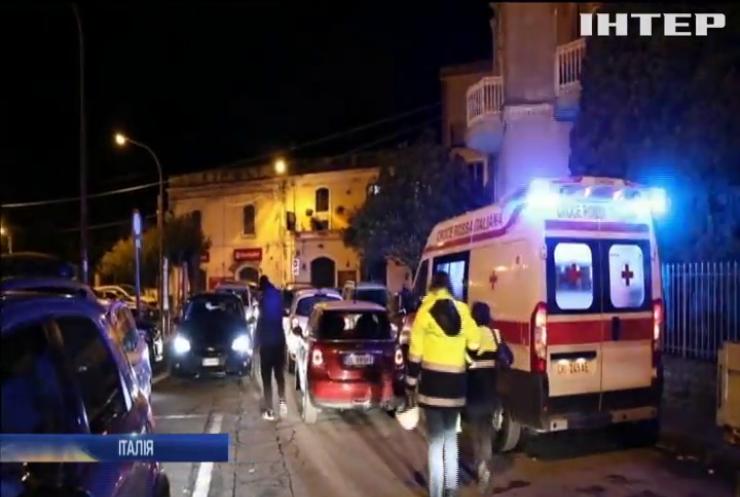 На Сицилії стався землетрус