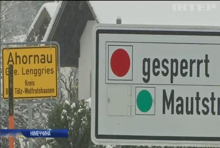 У Баварії через негоду позакривали школи