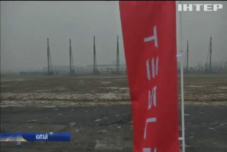 Tesla побудує завод у Китаї