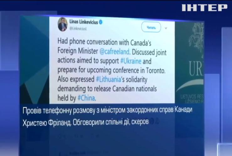 Канада і Литва узгодили надання допомоги Україні