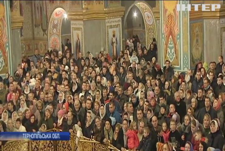 У Почаївській лаврі відбувся фестиваль різдвяних пісноспівів