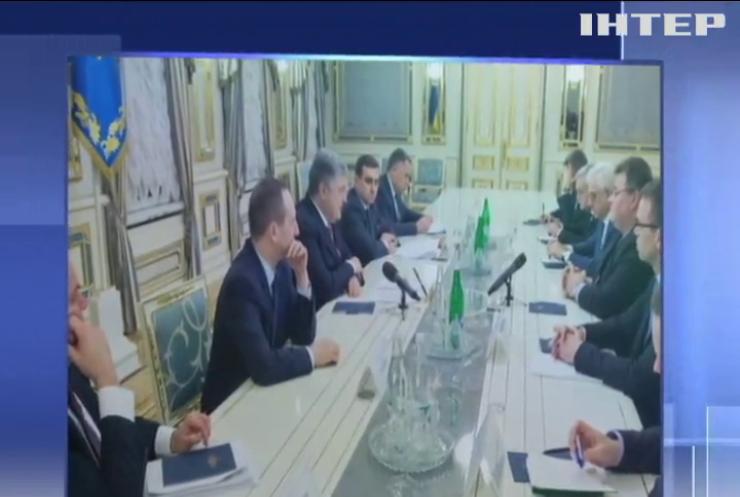 Порошенко обговорив ситуацію на Азові з очільниками МЗС Європи