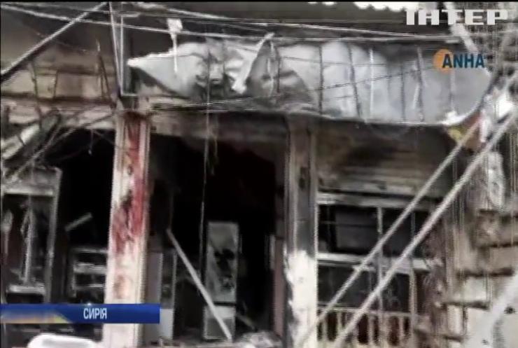 У сирійському місті Манбідж стався теракт
