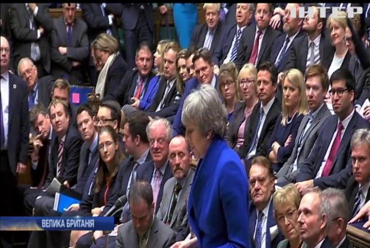 Brexit зірвав плани Терези Мей