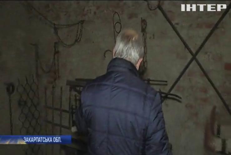 В замку Паланок виявили невідому кімнату