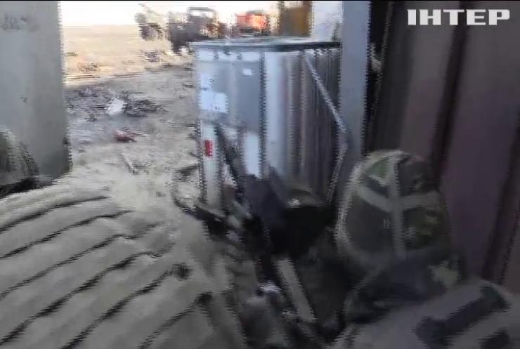 """Журналісти телеканалу """"Інтер"""" зафільмували захист Донецького аеропорту"""