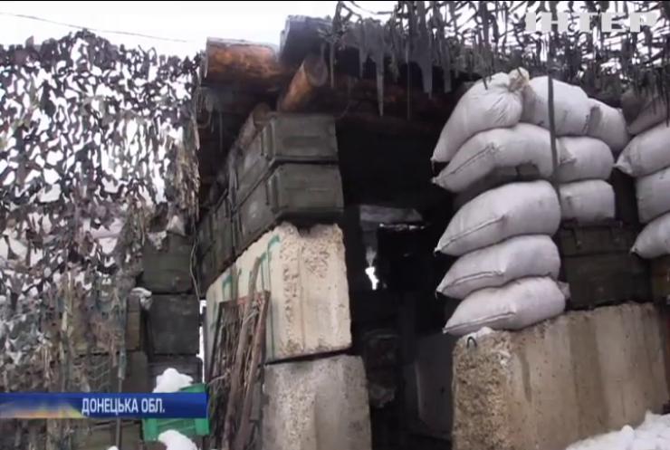 Бойовики обстріляли з гранатометів захисників Водяного