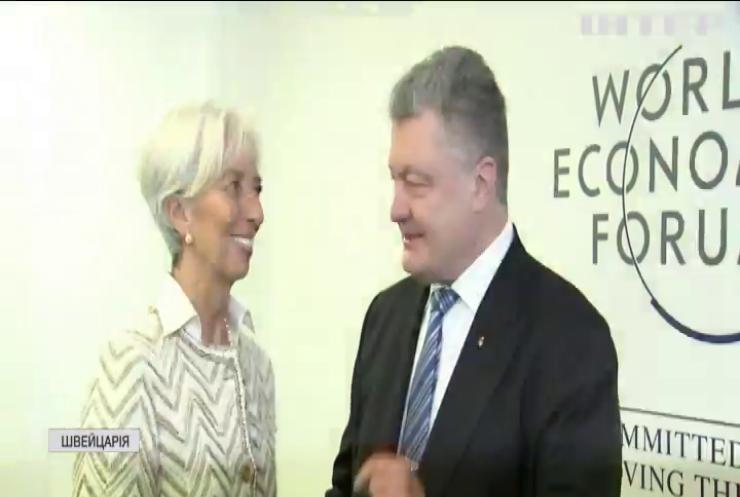 Петро Порошенко провів у Давосі засідання Національної інвестиційної ради