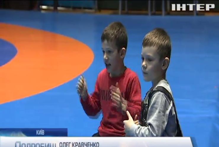 У столиці пройшов Міжнародний молодіжний турнір з греко-римської боротьби