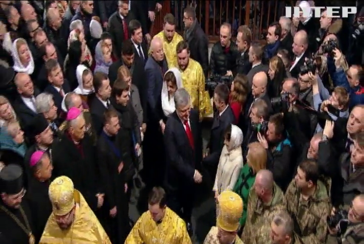У Києві відбулася інтронізація митрополита ПЦУ Епіфанія