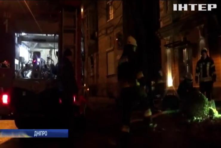 У Дніпрі підпалили кав'ярню разом із відвідувачами (відео)
