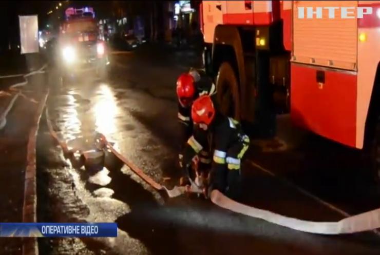У Рівному пожежа повністю знищила ресторан