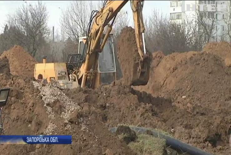 У Бердянську сталася аварія на каналізаційному колекторі