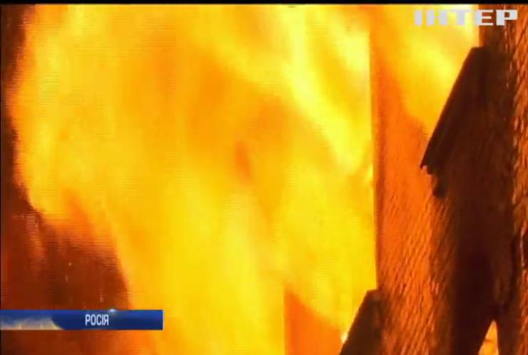 Пожежа в Москві: зросла кількість загиблих