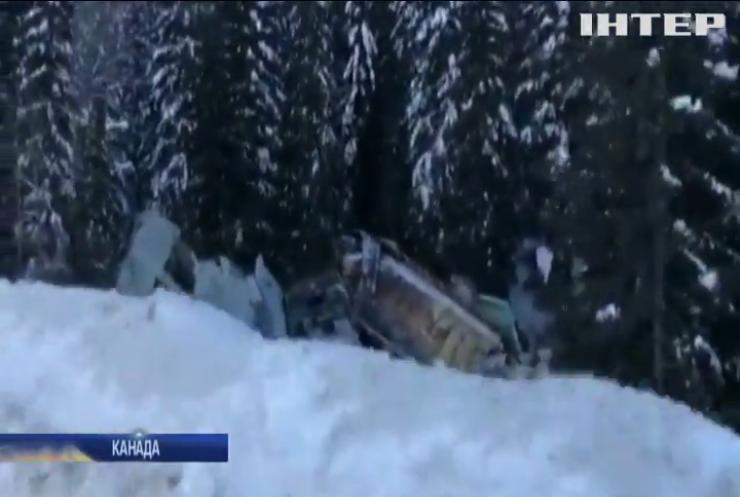 У Канаді з рейок зійшов потяг: загинули люди