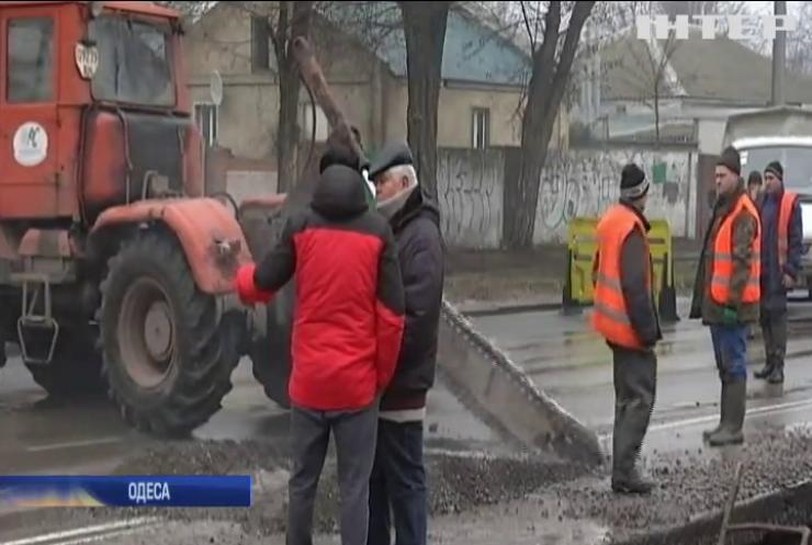 Одесса через масштабну аварію на водогоні залишилася без води