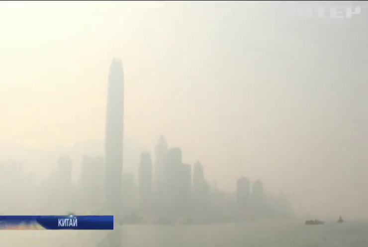 Густий туман накрив південні регіони Китаю