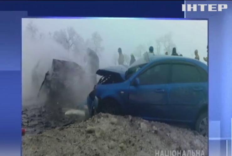 На Донеччині у аварії загинули шестеро людей