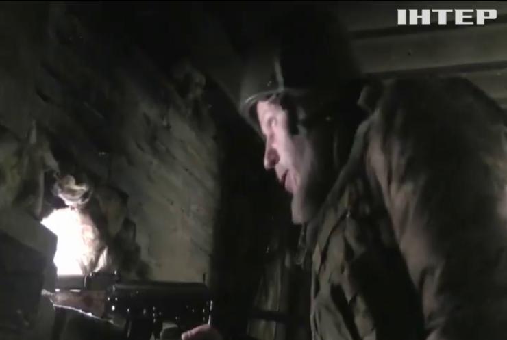 На Донбасі знищили бронеавтомобіль бойвиків