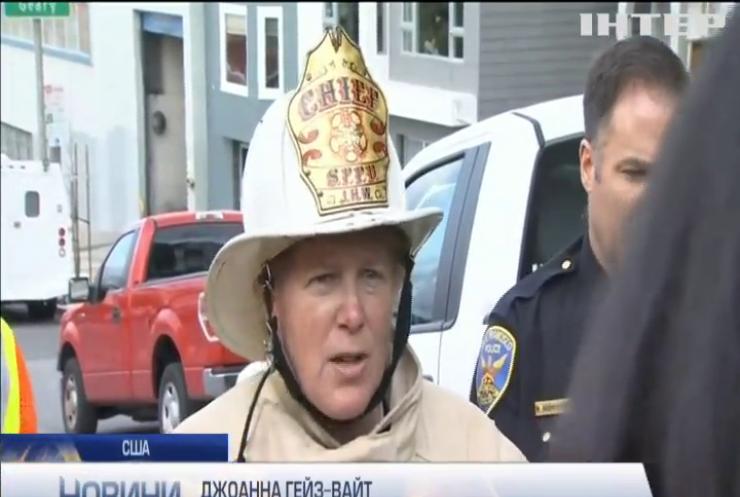 У Сан-Франциско горіла будівля пожежного департамента