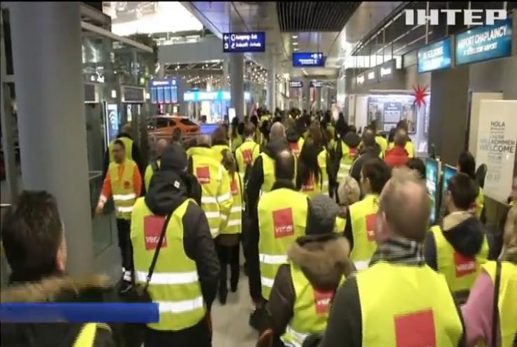 У Німеччині поновилися страйки у аеропортах