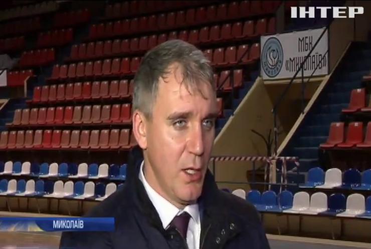 Ремонт без завершення: у Миколаєві відкрили професійний баскетбольний майданчик