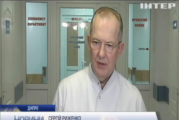 Дніпровські лікарі врятували життя пораненого на Донбасі військового