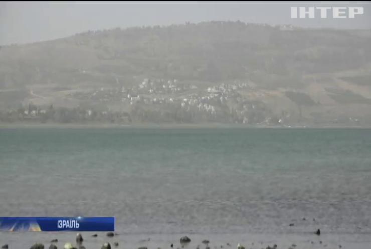 Ізраїль опинився на межі посухи
