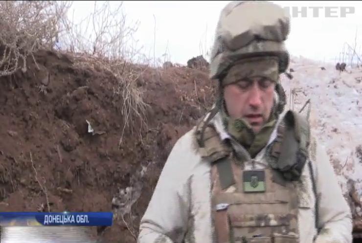На Донбасі українські військові знищили ворожу БМП
