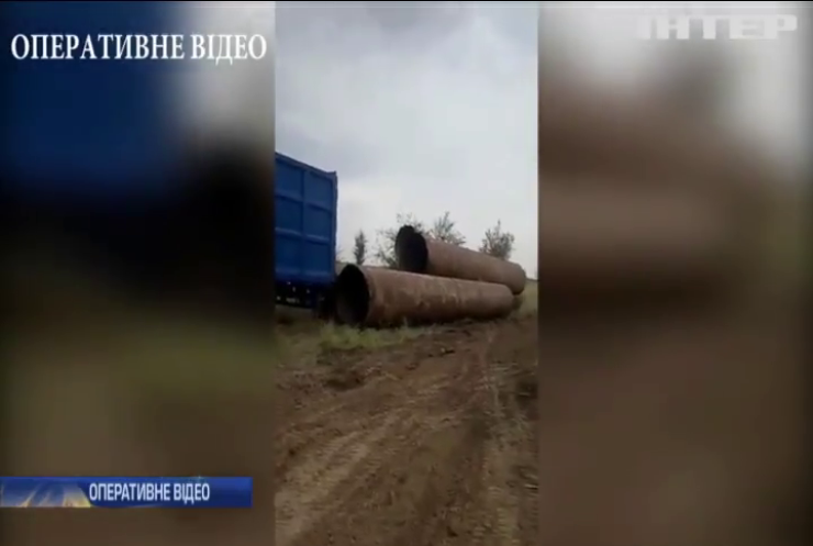 На Дніпропетровщині затримали банду викрадачів труб