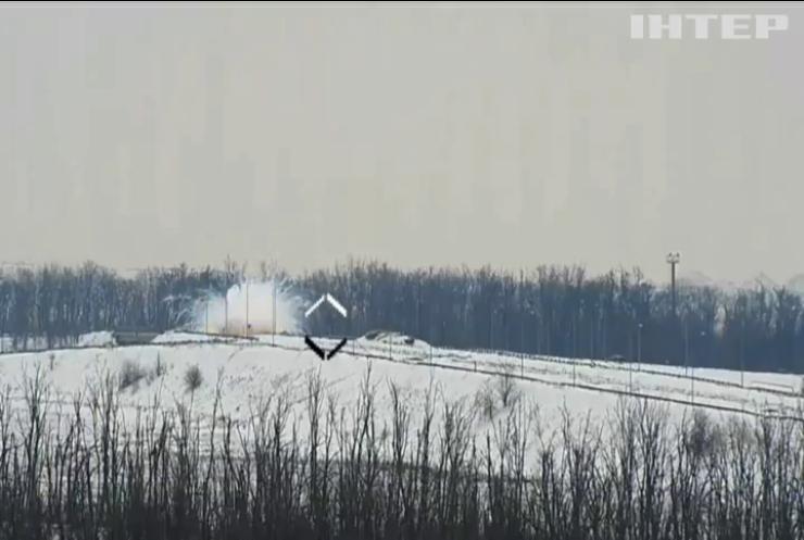На Донбасі українські військові знищили вогневу точку бойовиків