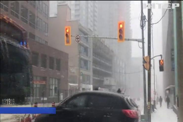 Негода у Канаді: закриваються школи, скасовуються авіарейси