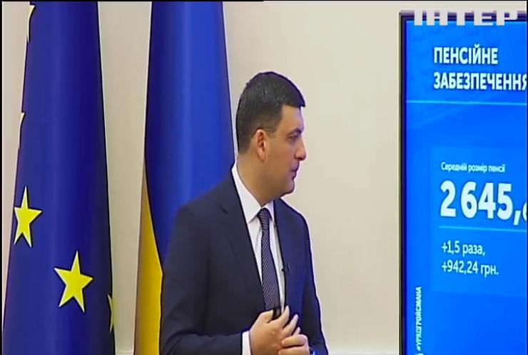 Пенсії в Україні індексуватимуться автоматично - Володимир Гройсман
